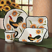 Dinnerware, 16-Piece...