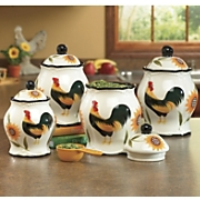 Canisters, Set of 4...