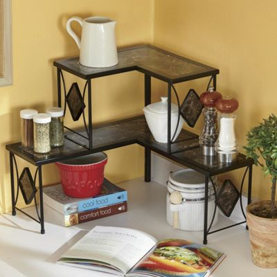 Marbleous Corner Shelf