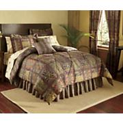 Dakar Bed Set, Curtains, Valance, Pillow