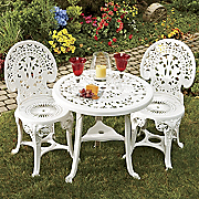 3-Piece Crown Resin Bistro Set