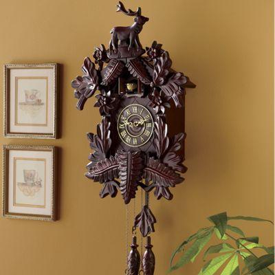 Nostalgic Cuckoo Clock From Montgomery Ward Si47751