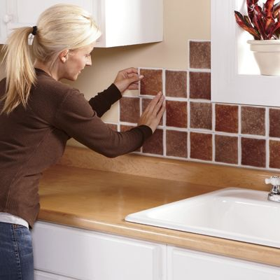 Self-Stick Backsplash Tiles