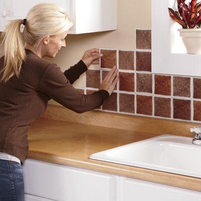 self stick backsplash tiles from home at five 174 47844 peel and stick backsplash ideas for your kitchen decozilla
