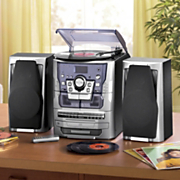 6-in-1 Deluxe Home Stereo System
