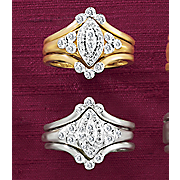 3 Piece Diamond Bridal Ring Set