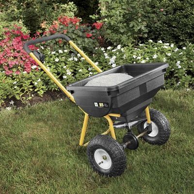 Walk-along Spreader Cart