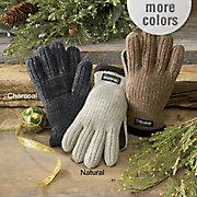 MenS Rib Knit Thinsulate Gloves
