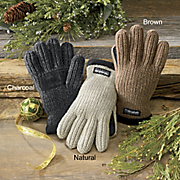 MenS Rib Knit Thinsulate Gloves