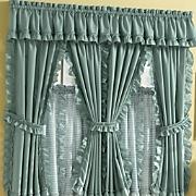 Mayfield Cape Cod Window Treatments in Solid & Pattern