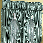 Mayfield Cape Cod Window Treatments In Solid and Gingham