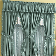 Mayfield Cape Cod Window Treatments in Solid & Pattern
