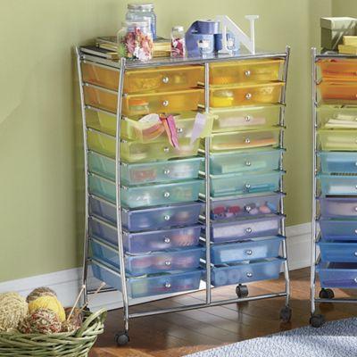 20-Drawer Colorful Storage