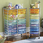 Colorful Storage Drawers