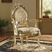 Ornate Ivory Chair
