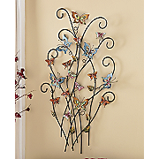 add color  butterfly metal sculpture