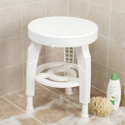 Bath Seat, 360° Swivel with Antimicrobial Bacti-X