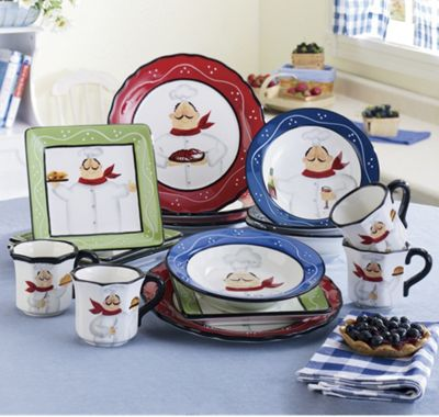 16-Piece La Chef Dinnerware