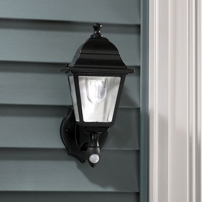 Wall Sconce With Motion Sensor : Battery Operated Motion-Detector Wall Sconce from Montgomery Ward 48740