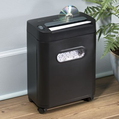 12-Sheet Crosscut Royal Paper Shredder