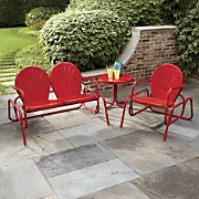 Tulip Glider Chairs and Table