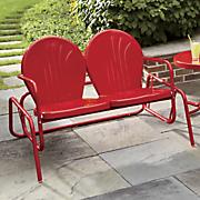 2 Seat Tulip Glider Chair