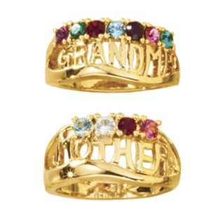 'Mother' Or 'Grandma' Family Ring