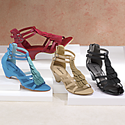 Freshica Scalloped Sandal by Montgomery Ward