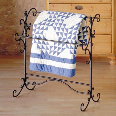 Iron Blanket Rack