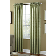 Curtains Thermal Pole Top Tuscany Jacquard