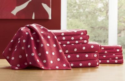 Microfiber 12-Piece Kitchen Towel Set