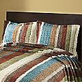 Striped Cotton Chenille Sham