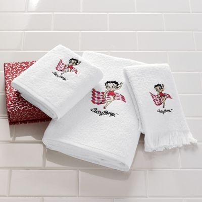 Hello Betty, 3-Piece Bath Towel Set