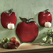 3-Piece Apple Sconce...