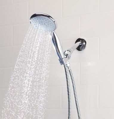 Shower Head, Deluxe, Handheld with Extra Long Cord