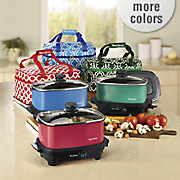 5 quart versatility slow cooker with travel bag by west bend