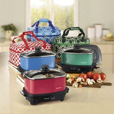 West Bend 5-Quart Versatility Slow Cooker with Travel Bag