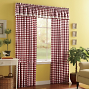 Buffalo Check Window Treatments