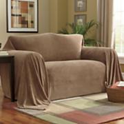 Cobertor para muebles de felpa texturada