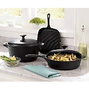 5-Piece Cast Iron Cookware