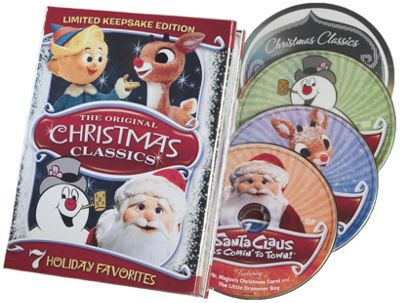 Limited Keepsake Edition Classic Christmas DVDs