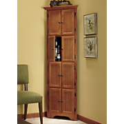Captivating ... Free Standing Corner Pantry Cabinet With Storage Cabinet At Country  Door With White Pantry Storage Cabinet