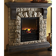 Electric Fireplaces Faux Stone Fireplaces From Midnight