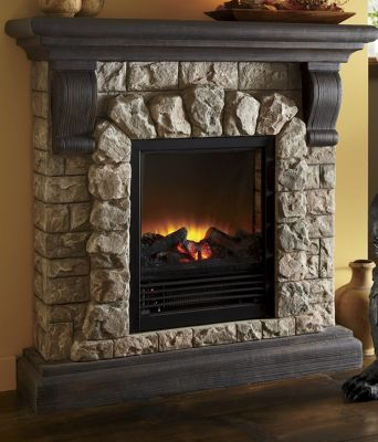 Electric Faux Stone Fireplace Amp Seventh Avenue