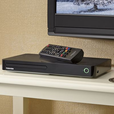 Symbio Media Box and Blu-Ray Player by Toshiba