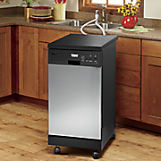 3 75 cu  ft  portable dishwasher by montomery ward