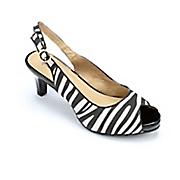 Zebra Slingback By Classique