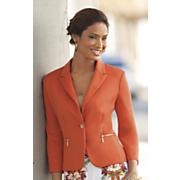 touch of gold zipper jacket