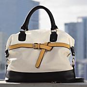belted handbag