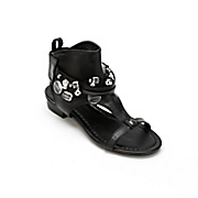 beaded collar sandal by monroe and main
